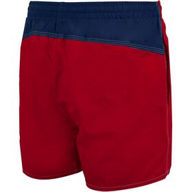 arena Bywayx Bicolor Shorts Men shiny red/navy/white